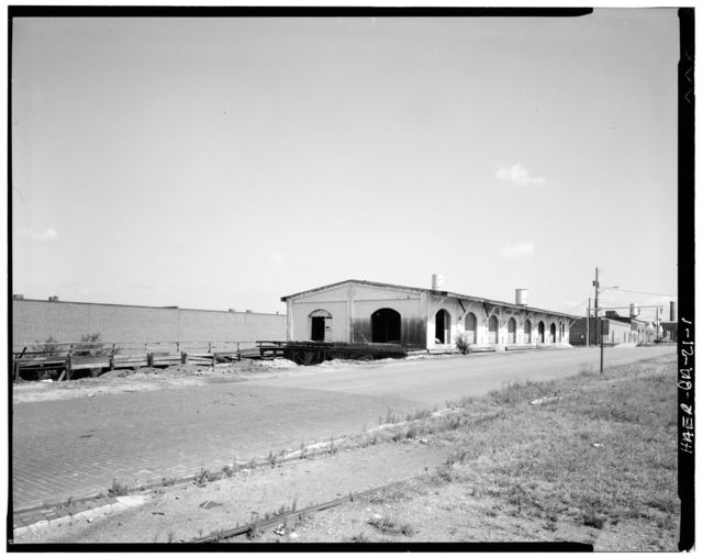 Seaboard Airline Railway, Freight Depot, Front Avenue, 1200-1300 Blocks, Columbus, Muscogee County, GA