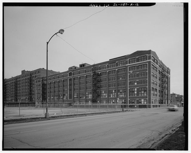 Sears Roebuck & Company Mail Order Plant, Merchandise Building, 924 South Homan Avenue, Chicago, Cook County, IL