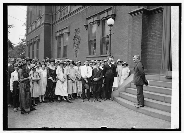 Sec. Wallace and agricultural clubs of Alamance County, N.C., 8/2/24