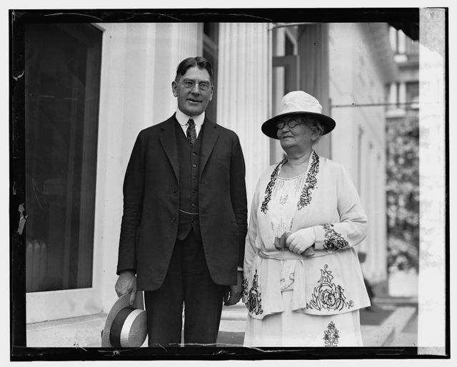 Sec. Wilbur & Mrs. Florence Porter, 7/29/24