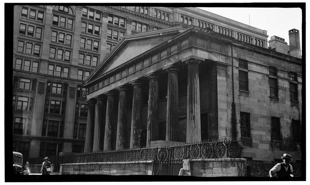 Second Bank of the United States, 420 Chestnut Street, Philadelphia, Philadelphia County, PA
