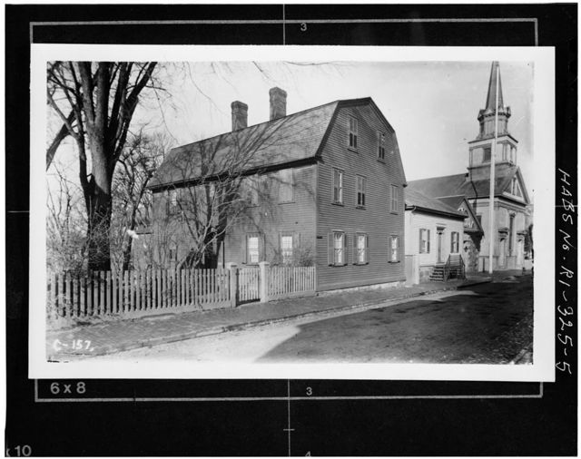 Second Congregational Church, 13-17 Clarke Street, Newport, Newport County, RI