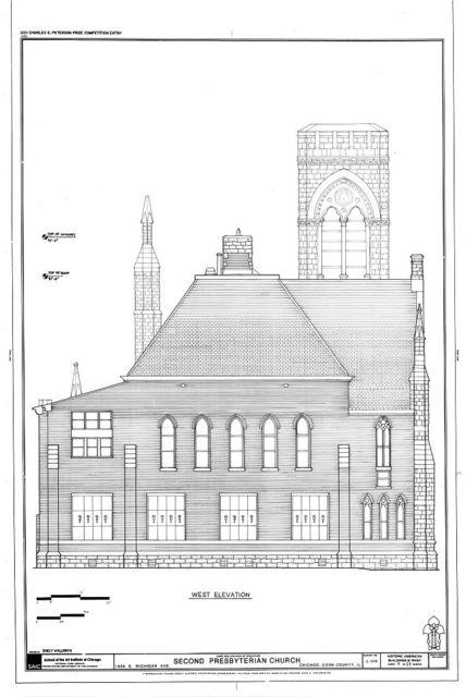 Second Presbyterian Church, 1936 South Michigan Avenue, Chicago, Cook County, IL