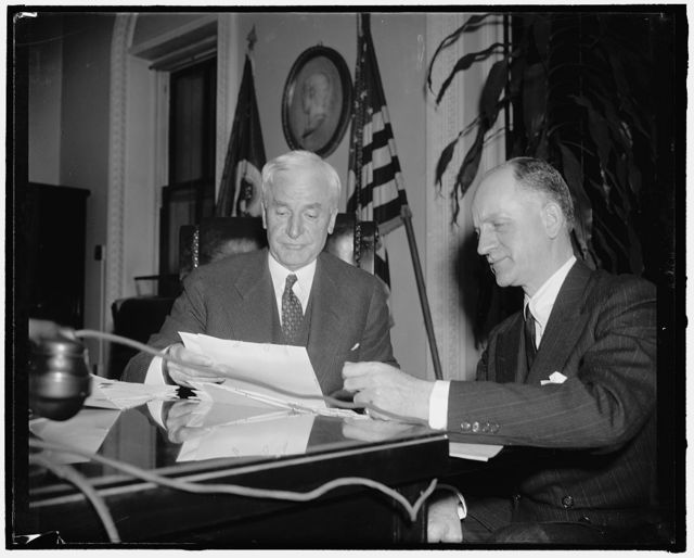 Secretary of State. Washington, D.C., Jan. 11. A new informal photograph of Secretary of State Cordell Hull, made since his return from the Lima Conference, 1-11-39