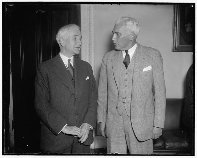 Secretary of State. Washington, D.C., March 1. A new informal picture of Secretary of State Cordell Hull, 3/1/38