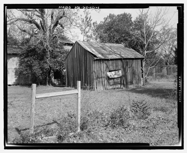 Seed House, State Highway 3/U.S. Highway 19 at Croxton Cross Road, Sumter, Sumter County, GA