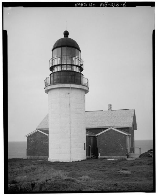 Seguin Island Light Station, Summit of Seguin Island, south of mouth of Kennebec River, Popham Beach, Sagadahoc County, ME