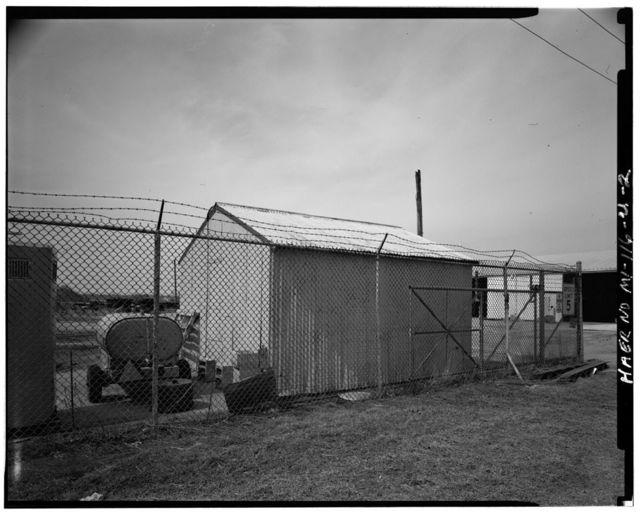 Selfridge Field, Building No. 833, West of Mulberry Street north of George Avenue, Mount Clemens, Macomb County, MI