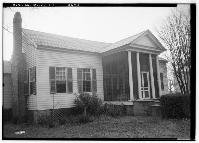 Sellers-Henderson House & Smokehouse, State Route 28, Millers Ferry, Wilcox County, AL
