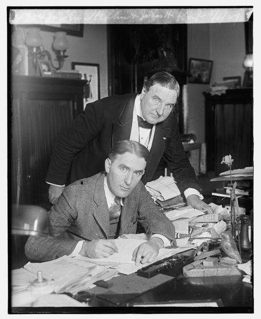 Sen. Heflin & J. Thos. Heflin, Jr., 5/1/29