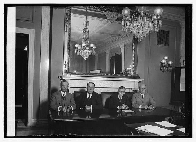 Senate Com. investigating Veteran's Bureau, 10/22/23