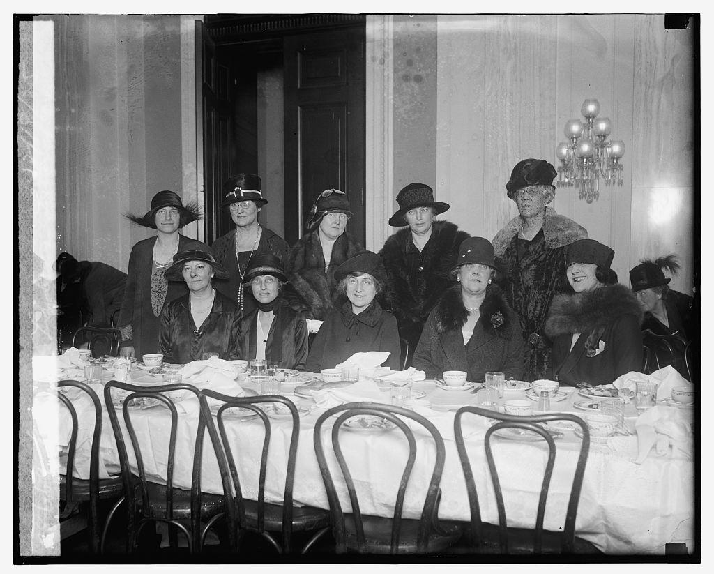 Senate ladies luncheon, 12/18/25