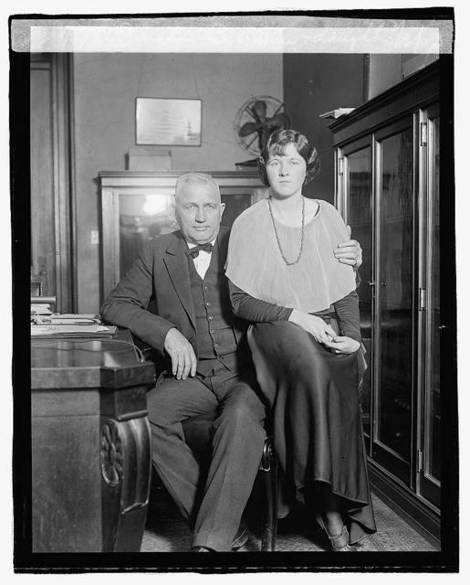 Senator Bursum & Daughter, 3/13/23