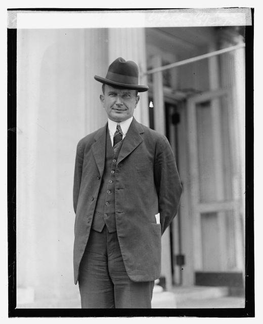 Senator Burton Wheeler, Montana, 9/24/23