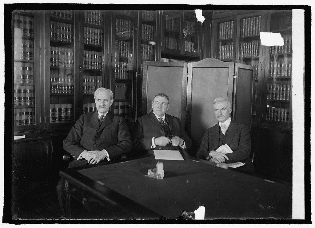 Senator Cummins, H.F. Stone and Senator T.J. Walsh (Senate Judiciary Com.), 1/28/25