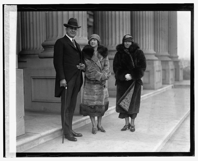 Senator N. Stansfield with wife and daughter, 12/1/24