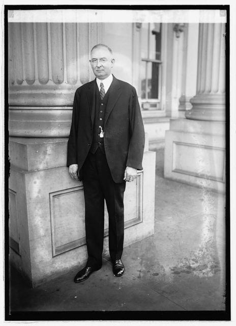 Senator Wm. F. Crow of Pa., 10/24/21