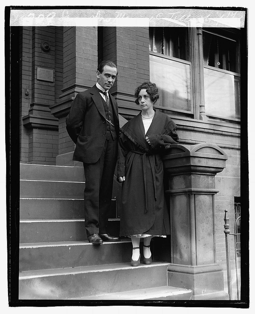 Senor Don Manuel C. Telly & wife, 12/3/20