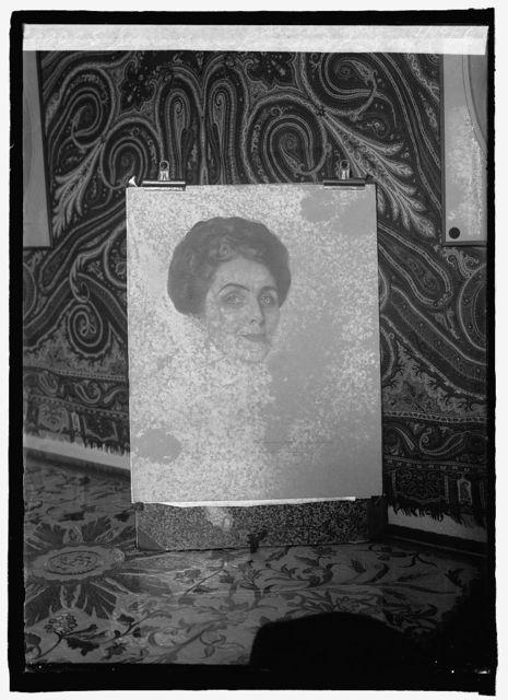 Sepia of Mrs. Coolidge by Rafael Sanchez Yago, 1/19/26