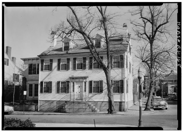 Seth Adams House, 26 Benevolent Street, Providence, Providence County, RI