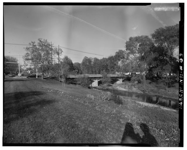 Seventh Street Bridge, Spanning Haw Creek at Seventh Street, Columbus, Bartholomew County, IN