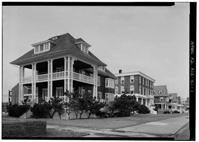 Sewell House, 1507 Beach Avenue, Cape May, Cape May County, NJ