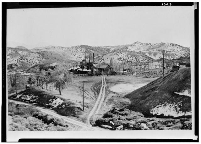 Shaft House, Active Mine, Virginia City, Storey County, NV