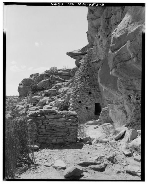 Shaft House Pueblito, Cuervo Canyon, Dulce, Rio Arriba County, NM