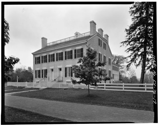 Shaker Centre Family Dwelling House (Third), North side of Village Road, North of Route 68 & State Route 33, Shakertown, Mercer County, KY