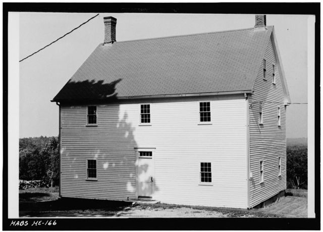 Shaker Church Family Boys' Shop, East of State Route 26, South of North Raymond Road, centrally located in church family area, Sabbathday Lake Village, Cumberland County, ME