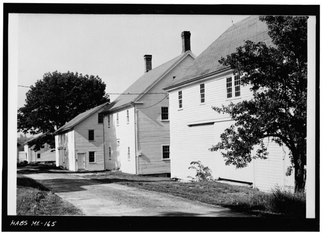 Shaker Church Family Community, West of State Route 26, South of North Raymond Road, Sabbathday Lake Village, Cumberland County, ME