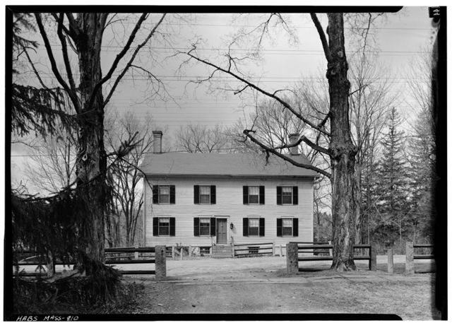 Shaker Church Family Dwelling House (second), Shaker Road, Harvard, Worcester County, MA