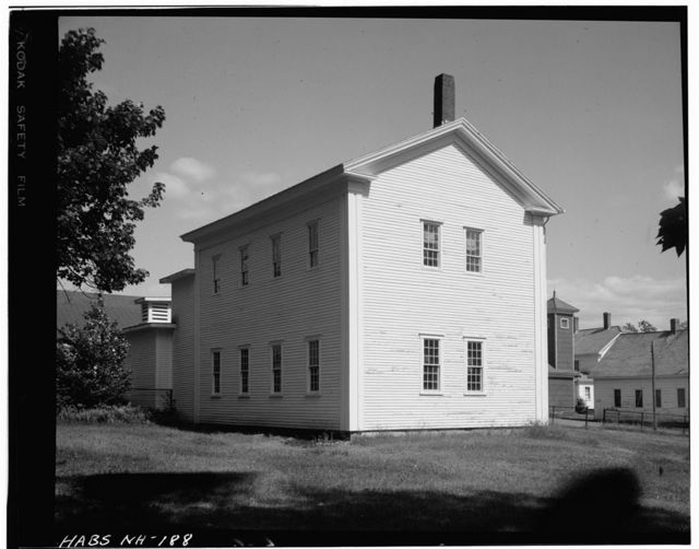 Shaker Church Family Schoolhouse, Shaker Village Road, Canterbury, Merrimack County, NH