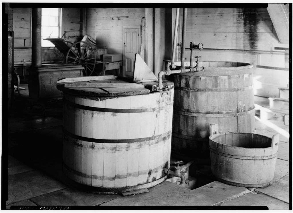 Shaker Church Family Washhouse & Machine Shop, U.S. Route 20, Hancock, Berkshire County, MA
