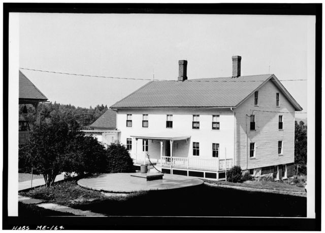 Shaker Church Family Washhouse, East of State Route 26, South of North Raymond Road, centrally located in church family area, Sabbathday Lake Village, Cumberland County, ME