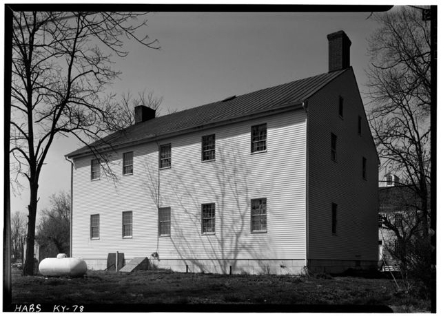 Shaker Meetinghouse, South side of Village Road, North of U.S. Route 68 & State Route 33 intersection, Shakertown, Mercer County, KY