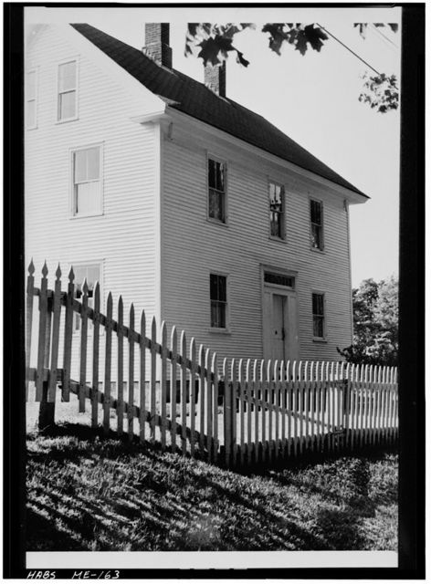 Shaker Ministry's Shop, West of State Route 26, South of North Raymond Road, Northwest edge of church family area, Sabbathday Lake Village, Cumberland County, ME