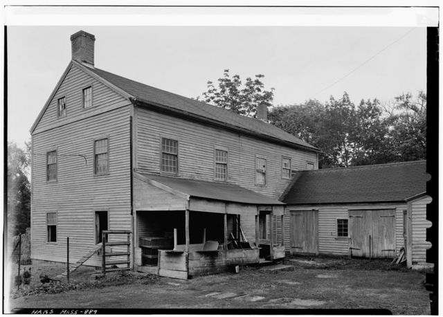 Shaker South Family Washhouse, South Shaker Road, Harvard, Worcester County, MA