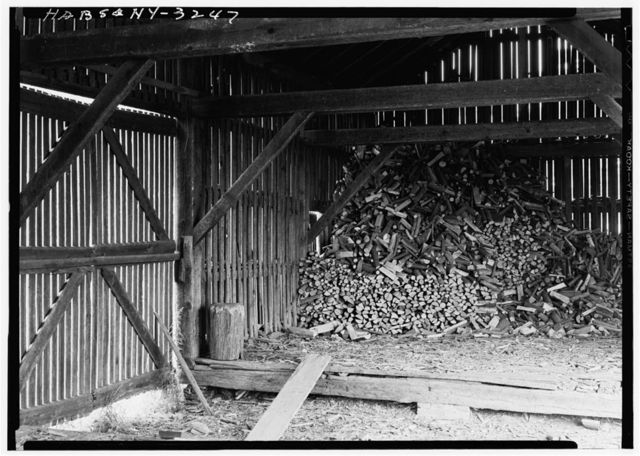Shaker South Family Woodshed, Watervliet Shaker Road, Colonie Township, Watervliet, Albany County, NY