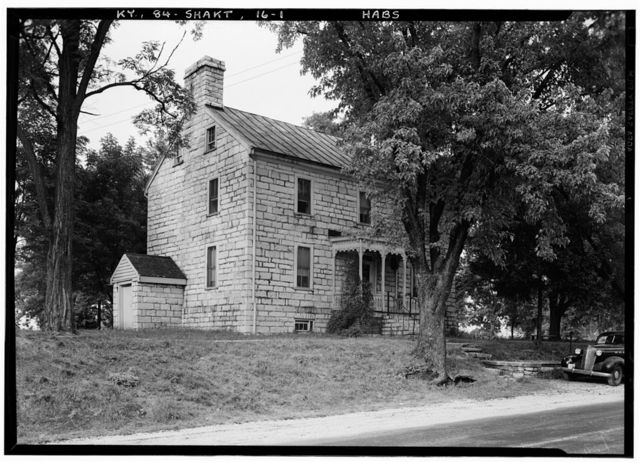 Shaker West Family Dwelling House (First), North side of Village Road, North of U.S. Route 68 & State Route 33 intersection, Shakertown, Mercer County, KY