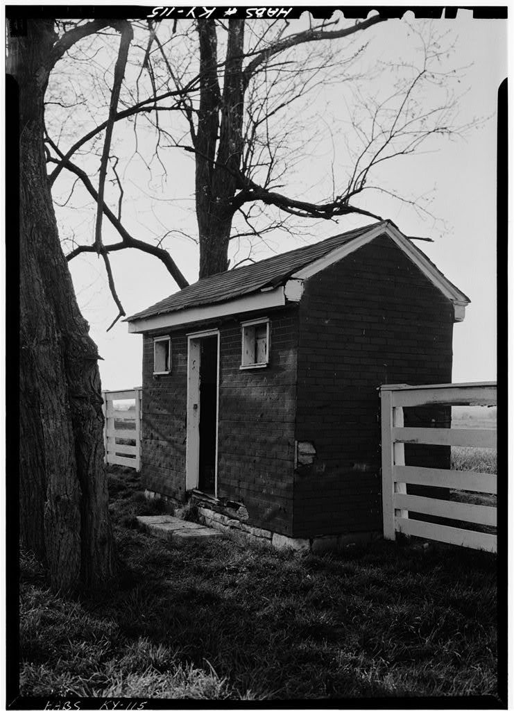Shaker West Family Privy, North side of Village Road, North of Route 68 & State Route 33 intersection, Shakertown, Mercer County, KY