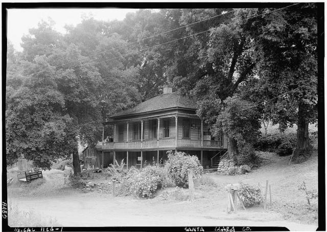 Shannon Farmhouse, 14475 Shannon Road, New Almaden, Santa Clara County, CA