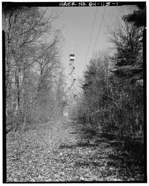 Shawnee Tower, 500 feet north of juncture of Township Roads 222 & 393, Murray City, Hocking County, OH