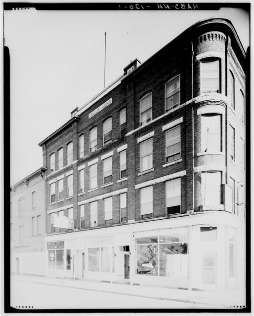 Shea Block, 50 West Central Street, Manchester, Hillsborough County, NH