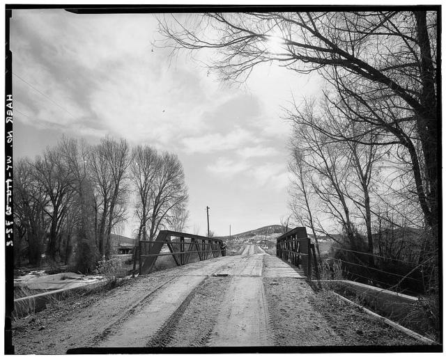 Shell Creek Bridge, County Road 57, Shell, Big Horn County, WY