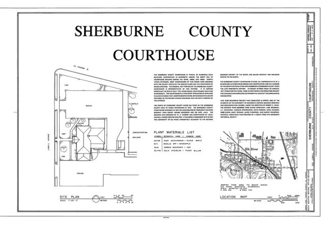 Sherburne County  Courthouse, 320 Lowell Avenue, Elk River, Sherburne County, MN