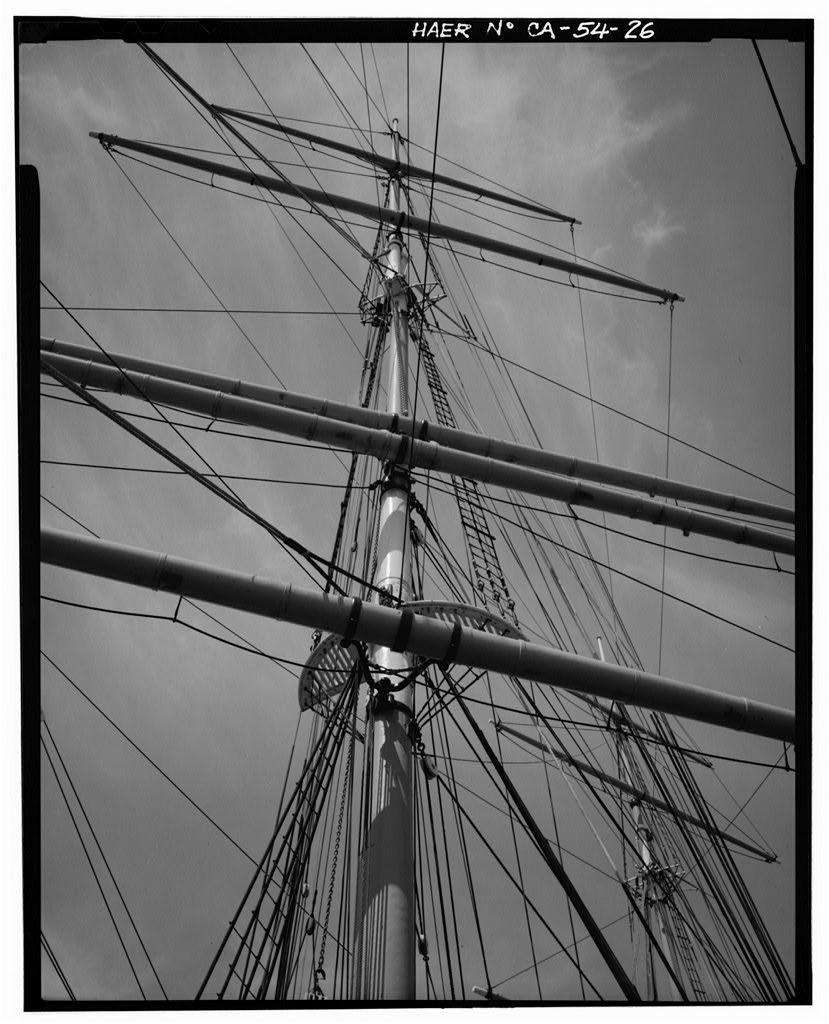 Ship BALCLUTHA, 2905 Hyde Street Pier, San Francisco, San Francisco County, CA
