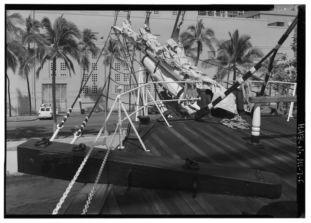 "Ship ""Falls of Clyde"", Hawaii Maritime Center,Pier 7, Honolulu, Honolulu County, HI"