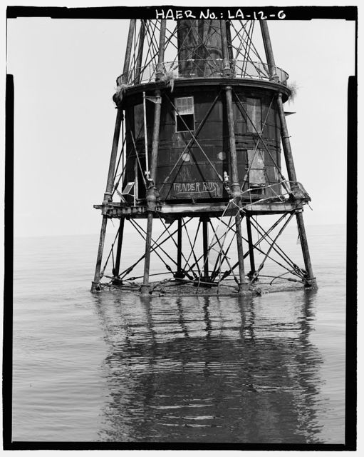 Ship Shoal Light Station, Gulf of Mexico, Theriot, Terrebonne Parish, LA