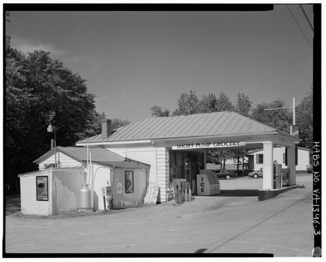 Short Pump Shell Gas Station, 11441 West Broad Street, Short Pump, Henrico County, VA